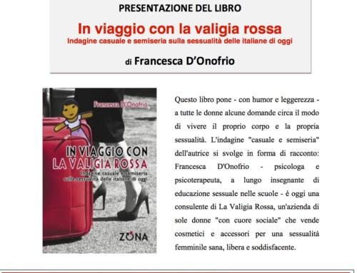 In viaggio con La Valigia Rossa si presenta in Biblioteca